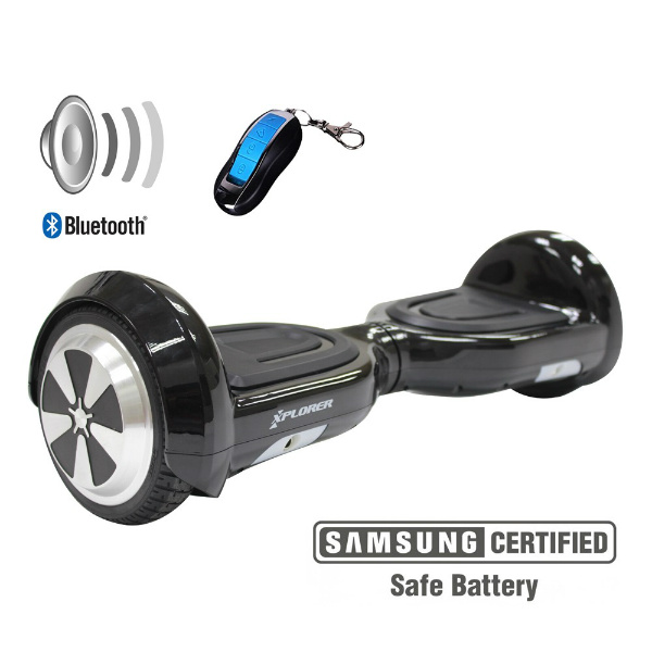 "Hoverboard Code black 6"" - Xplorer"