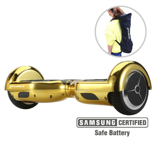 "Hoverboard City 6,5"" gold V3 - Xplorer"