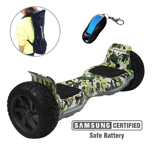 "Hoverboard Warrior camouflage 8"" - Xplorer"