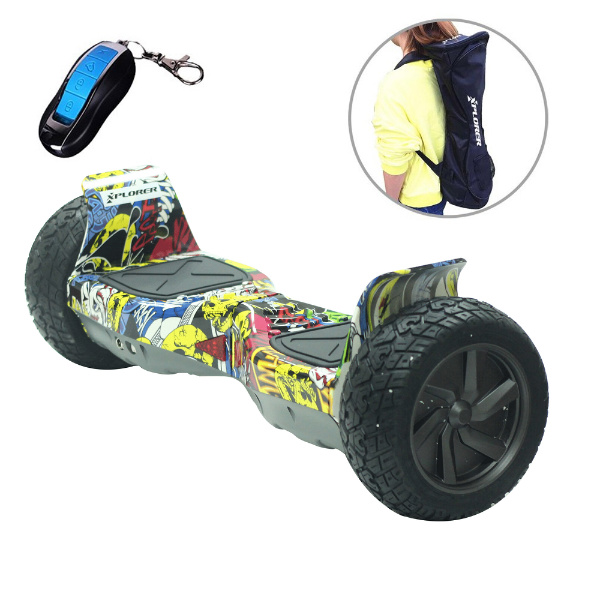 "Hoverboard Warrior Hip Hop 8"" - Xplorer"