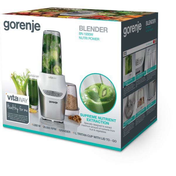 Gorenje-Nutri Power blender (BN1000W)