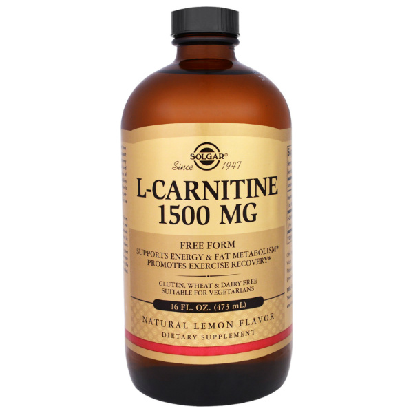 Solgar - L Carnitine (1500 mg)